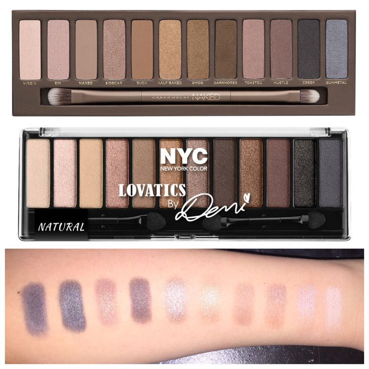 Naked Palette dupe alert! NYC New York Color Lovatics By Demi Eye Shadow Kit Compact. Only $4.54 available at Walmart! http://www.walmart.com/ip/NYC-New-York-Color-Lovatics-By-Demi-Eye-Shadow-Kit-Compact-0.50-oz/49019708