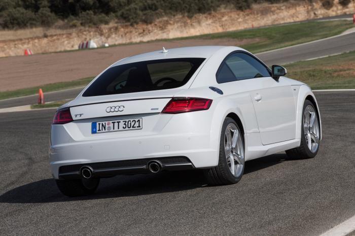 Audi TT TDI Ultra diesel rear static