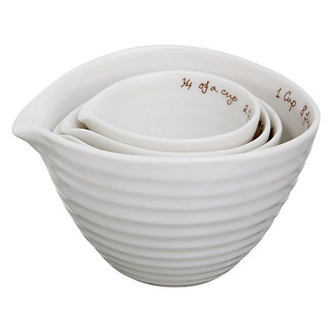 Buy Sophie Conran for Portmeirion Measuring Cups Online at johnlewis.com