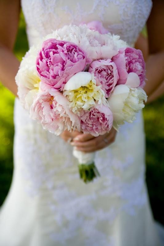 Tul y Flores · Inspiración para tu boda: Ramos de Peonías