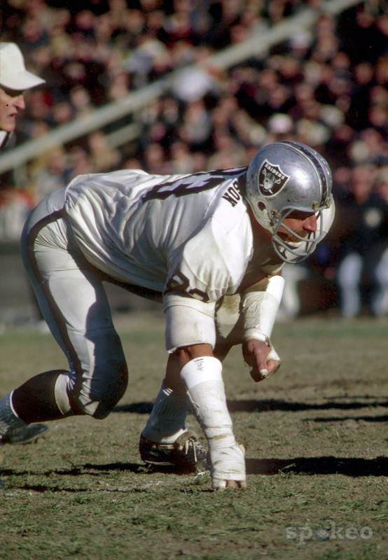 Defensive End Ben Davidson, Oakland Raiders. More Old School Greatness. He passed away in 2012 after a battle with prostate cancer. I was fortunate enough to meet him before he passes away.
