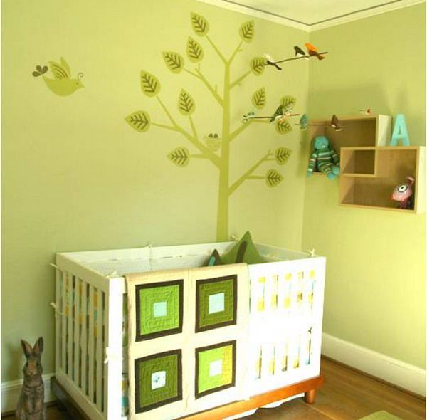 98 best Nursery Design: WALL MURALS images on Pinterest | Child room ...