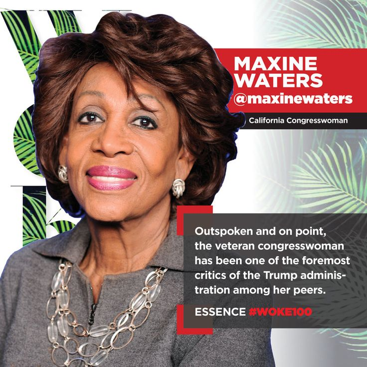 Meet Maxine Waters, California Congresswoman. Auntie Maxine! Tireless champion for truth and equality and is making sure her voice continues to be heard!   Click to learn more about her and the 99 other women featured in the May 2017 issue of ESSENCE.