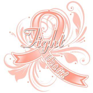 Endometrial Cancer Fight Like a Girl Flourish