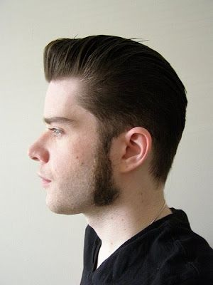 how to cut the sideburns