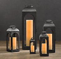 Duomo Lanterns - Totally going to use these indoors instead of buying real lamps.