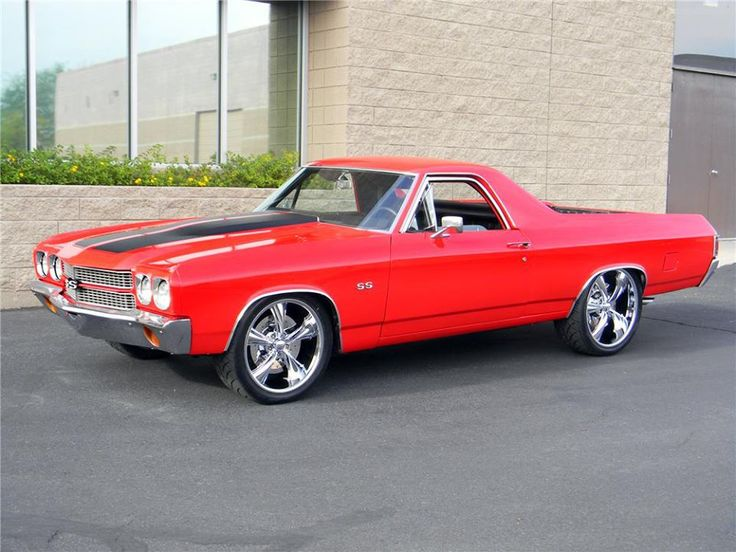 '70 Chevy El Camino SS.  Find parts for this classic beauty at restorationpartssource.com.