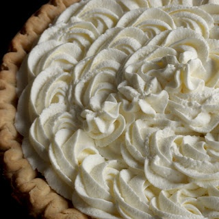 Stabilized whipped cream frosting - ever wonder how bakeries use real whipped cream but it doesn't fall apart?  This is how. * I just add 1 tablespoon instant pudding per 1 cup heavy cream and whip. It will hold forever.