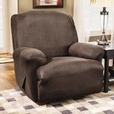Found it at Wayfair - Stretch Leather Recliner Slipcover