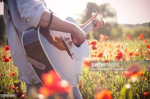 07-02 Man playing guitar in poppy field. #monleale... #monleale: 07-02 Man playing guitar in poppy field. #monleale… #monleale