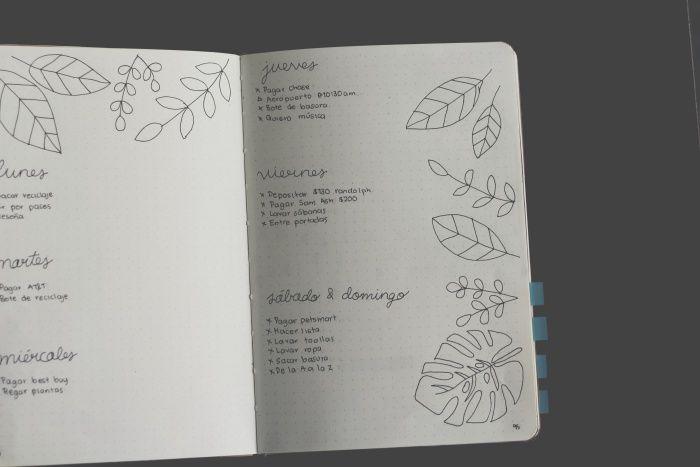 Bullet Journal para principiantes (Reto de 10 días) | annie's place⠀ Bullet Journal School, Bullet Journal Layout, Bullet Journal Inspiration, Journal Ideas, Bullet Journals, Washi, So Creative, Printable Planner Stickers, Layout Inspiration