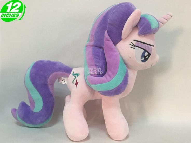 "12"" My Little Pony Starlight Glimmer Plush Doll Anime Stuffed Horse New POPL8134 #Unbranded"