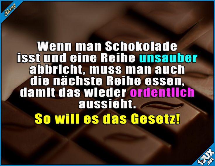 Ordnung muss sein! :P Lustige Sprüche und Memes #Humor #Sprüche #lustig #Memes #lustigeSprüche #Jodel #Schokolade #lustigeBilder