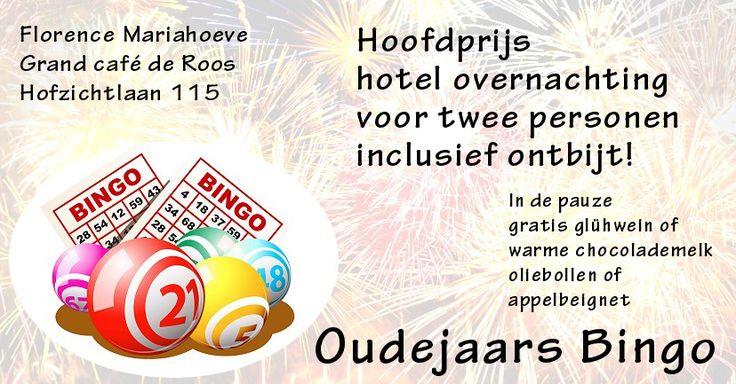 31 Dec - Oudejaars bingo – Florence Mariahoeve - http://www.wijkmariahoeve.nl/oudejaars-bingo/