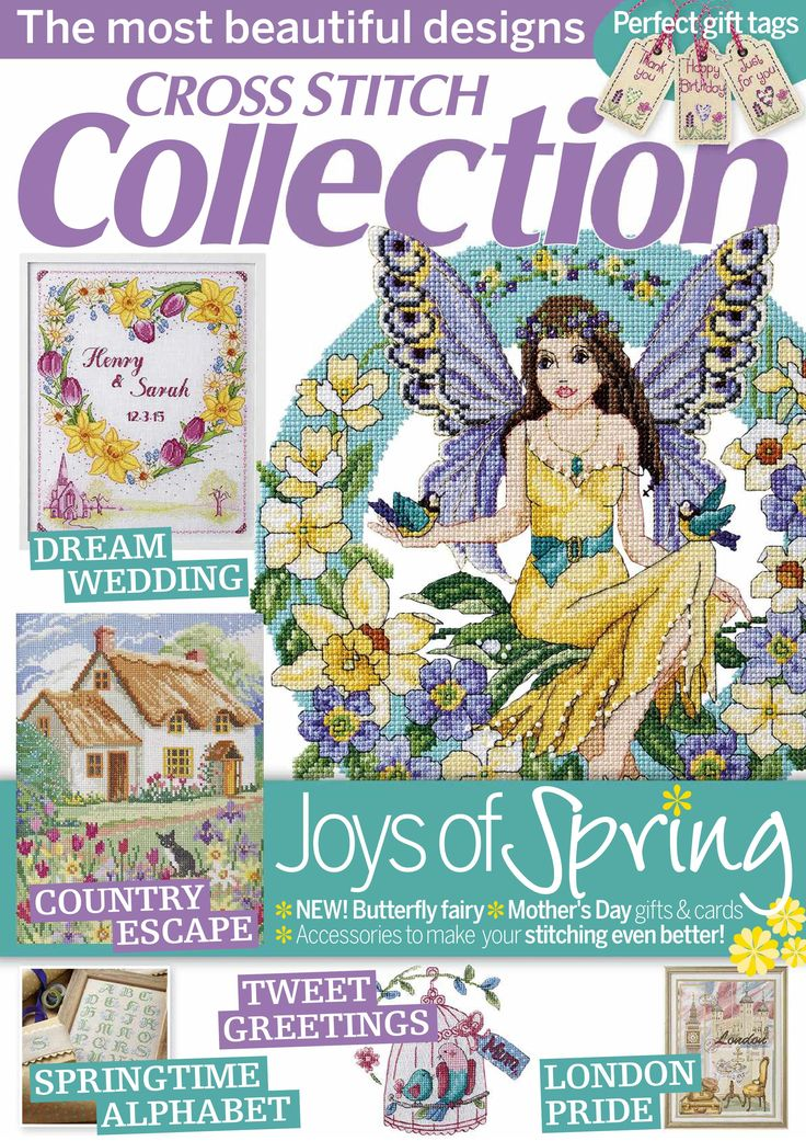 Cross Stitch Collection Issue 246 March 2015 Zinio Patterns Pinned