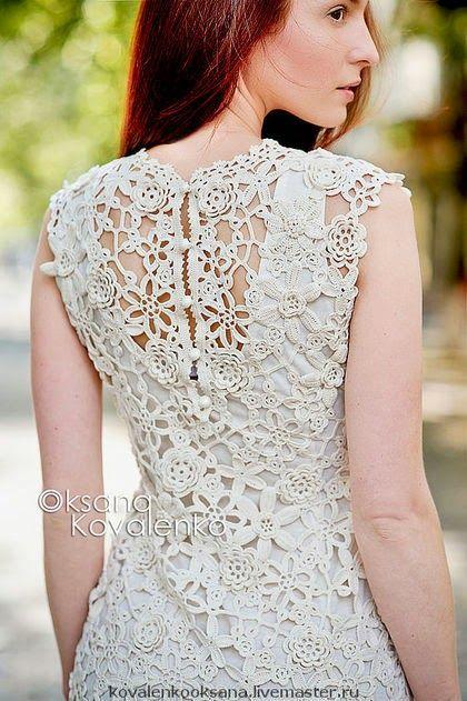 Ирландское кружево от Оксаны Савченко | Irish crochet &