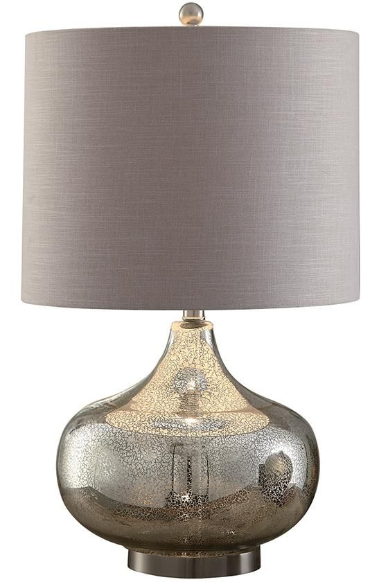 Soho Mercury Glass Table Lamp Lamps Breathe New By Home Decorators