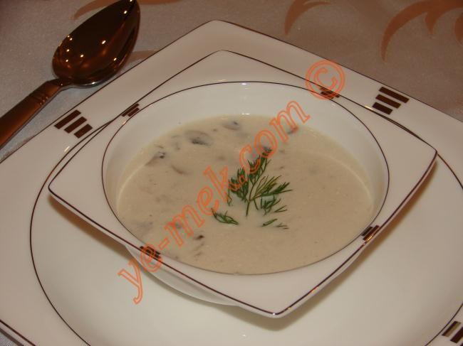 Kremalı Mantar Çorbası Resimli Tarifi - Yemek Tarifleri