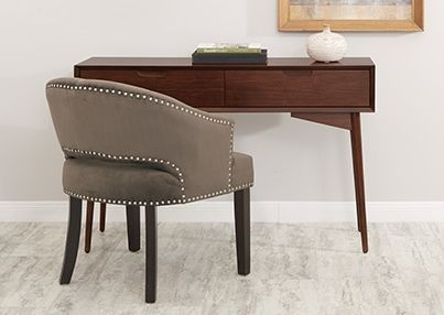 Studded details make all the difference  Find them with the Vivian Accent  Chair87 best AVE SIX   Seating images on Pinterest   Followers  Accent  . Modern Office Accent Chairs. Home Design Ideas