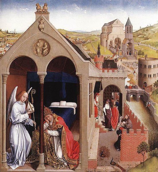 Rogier van der Weyden (1399 — 1464). Сон Святого Сергия.