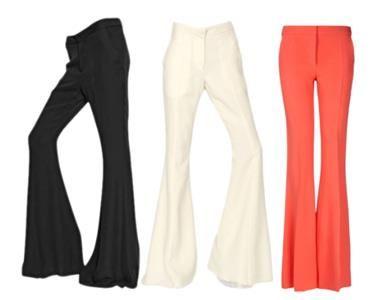Штрипки на танцевальные расклешенные брюки