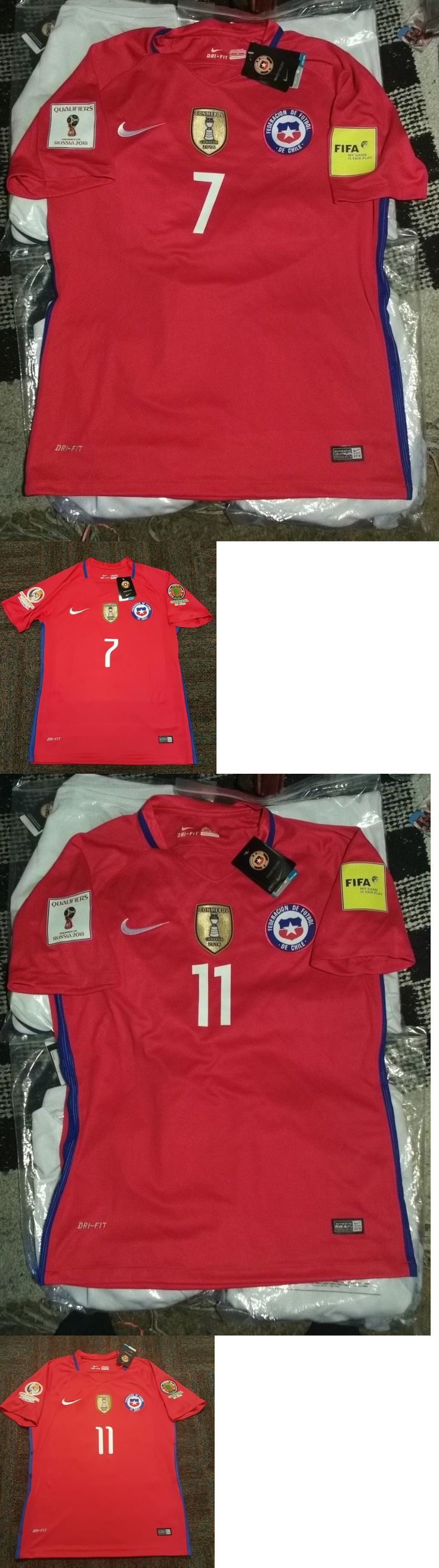 Soccer-National Teams 2891: 2017 Chile Soccer Jersey Camisa De Chile Futbol -> BUY IT NOW ONLY: $74 on eBay!