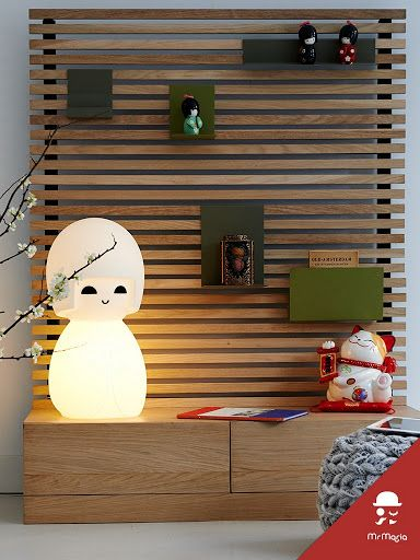 DANGER: kawaii lovers will definitely fall in love with this cute KOKESHI LAMP!
