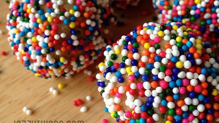 Jazzy Things!!! - Birthday Cake Protein Truffles