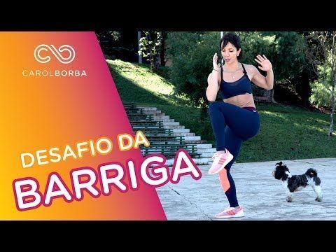 13 melhores exercícios para trincar o abdômen - EM CASA - Carol Borba - YouTube