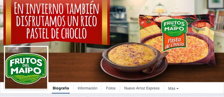 Cover Facebook para la Marca Frutos del Maipo