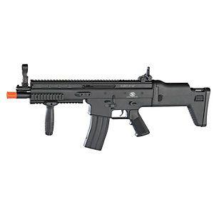 Fn Herstal Fn Scar-L Spring 6Mm Airsoft Rifle- Blk