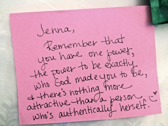 Pinned it for these words of affirmation, insert own name and it's pretty amazing