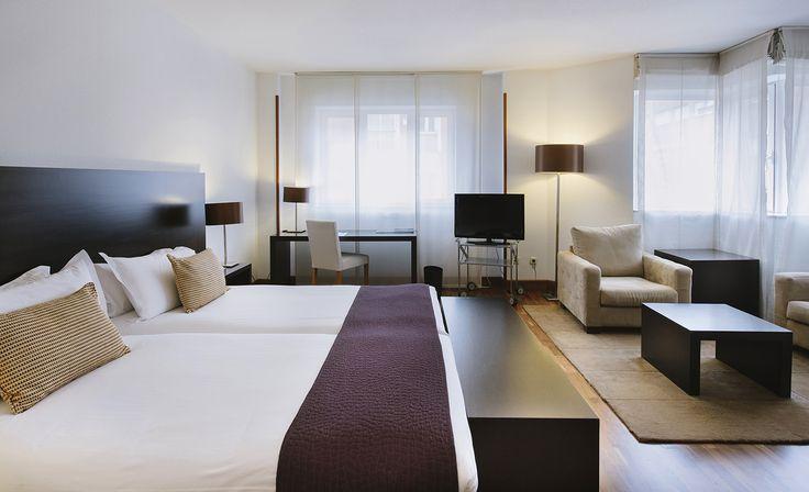 Junior suite - Rafaelhoteles Atocha