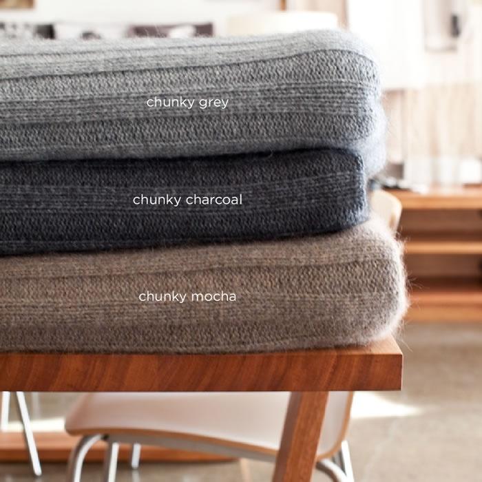 Bemboka chunky wool throws x