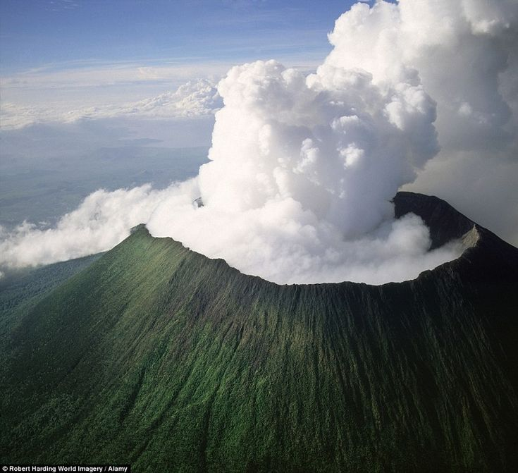 More than 75% of the world's volcanoes are considered active, meaning that they've erupted within the last 10,000 years.