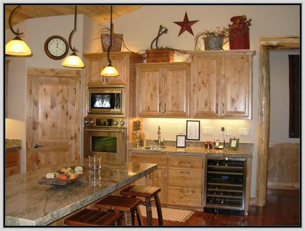 decorating above kitchen cabinets photos  for the home