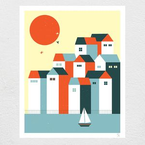 Image of Vacanze Screen Print
