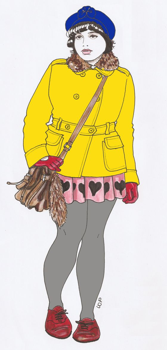 Plus size Fashion Illustrations   http://www.accrodelamode.com/index.php?category/ODE-AUX-GROS-DERRIERES