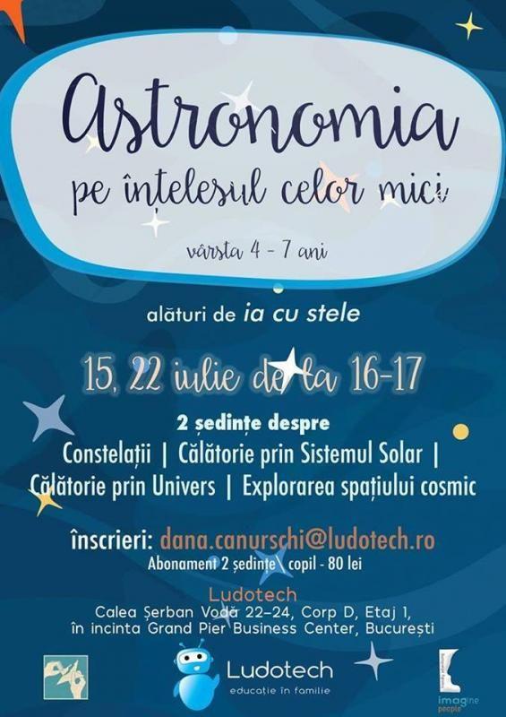 Astronomia pe înțelesul celor (foarte) mici - ședința 2