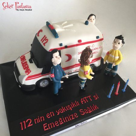 112 Acil Yardım Paramedik ATT Ambulans Pasta