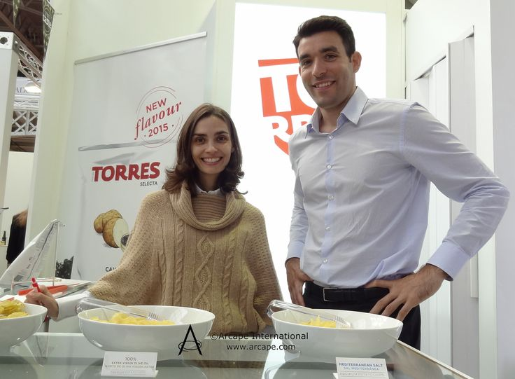 Delighted to chat with Patatas Fritas Torres who had travelled from Spain to exhibit at the show.