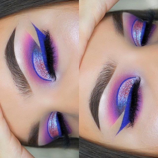 Purple dream ⛅️ brows: @anastasiabeverlyhills dipbrow dark brown + clear brow gel eyeshadow: @bhcosmetics take me back to Brazil + @hudabeauty desert dusk palette shade twilight liner: @sigmabeauty inscription liner lashes: @s.klashes mascara: @eyeko lash alert highlight: @anastasiabeverlyhills aurora glow kit brushes: @morphebrushes