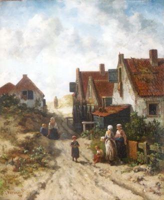 Oude dorp Scheveningen