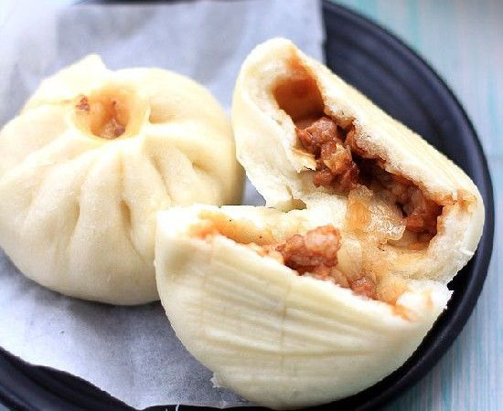 chinese bbq pork buns. WOnder what I should stuff them with INSTEAD OF PORK? I'd like to learn the technique.