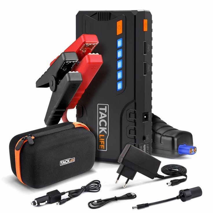 Booster batterie 600a 16500mah portable starter demarrage