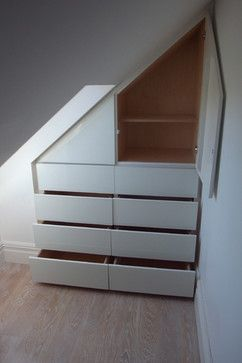 Bespoke Loft storage - contemporary - Wardrobe - Other Metro - Carpenter & Carpenter Ltd