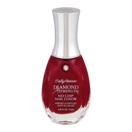 $3.96 Sally Hansen Diamond Strength No Chip Nail Color 380 Honeymoon Red, 0.45 FL OZ