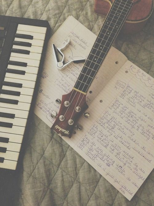 I want to write my own song one day.  A song that is actually decently good, not like a song I made up in my head about cooking pancakes.