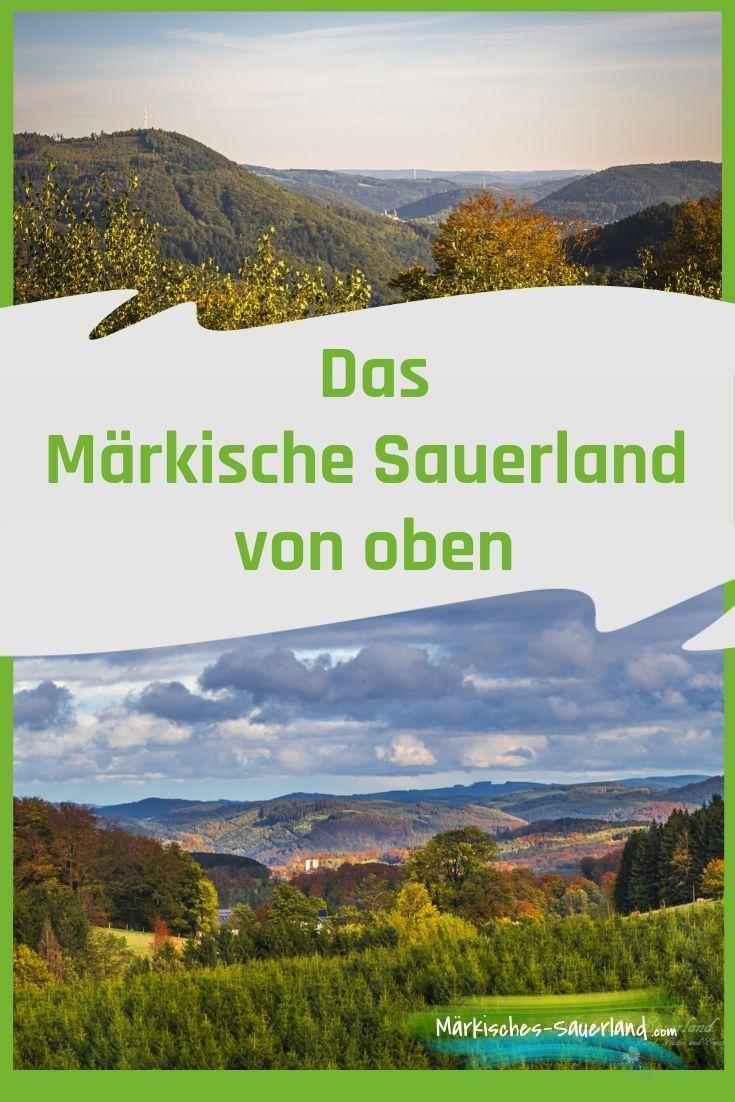 Panoramablicke Ubers Markische Sauerland Sauerland Ausflug Aussicht