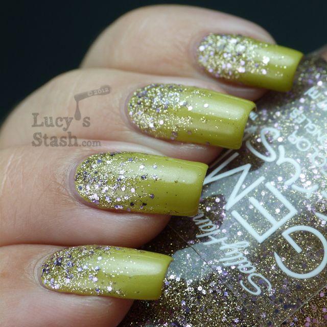 Mejores 203 imágenes de Glitter Nail Art en Pinterest | Arte en uñas ...